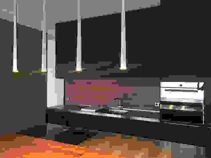 Küche angela liarikos architecture + design KücheArbeitsplatten MDF Mehrfarbig