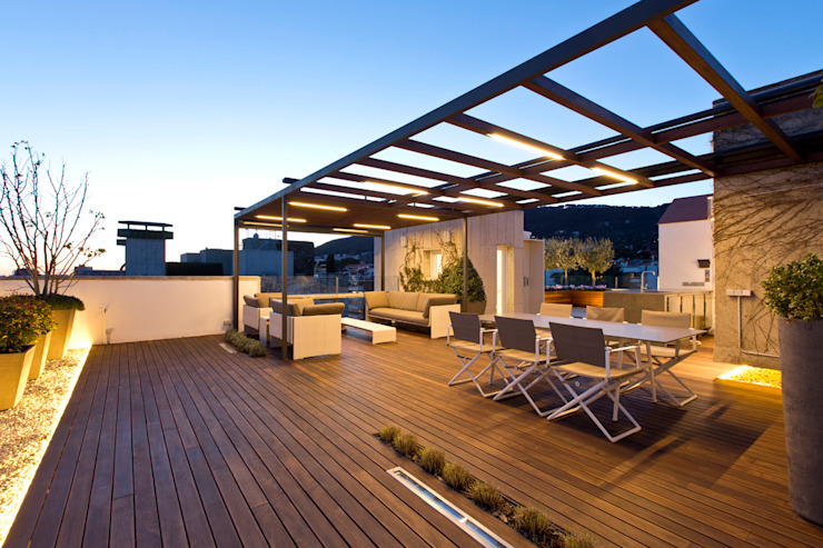 Patios & Decks by Garden Center Conillas S.L, Modern Wood Wood effect