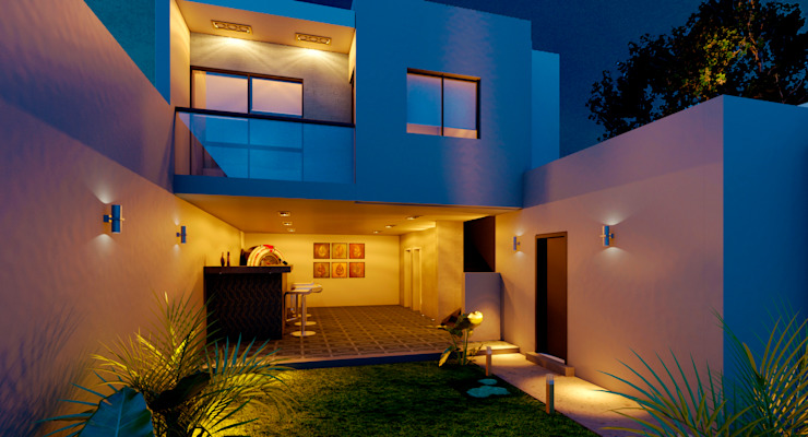 Casas modernas de EKA ARQUITECTURA Moderno