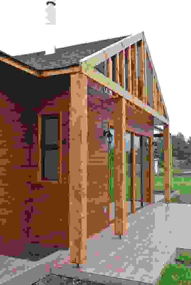 Casa en Talagante Casas de estilo rural de AtelierStudio Rural