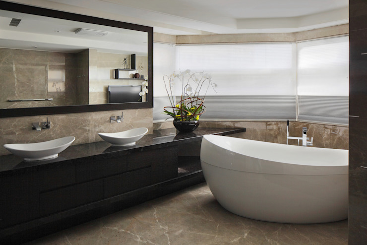 Bathroom by 大荷室內裝修設計工程有限公司, Modern