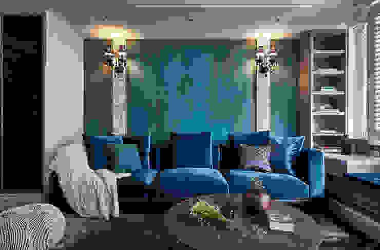 Living room by DYD INTERIOR大漾帝國際室內裝修有限公司,