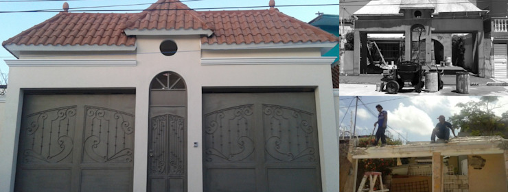"CASA ""PICCOLA ITALIA"" de SG Huerta Arquitecto Cancun Clásico Caliza"