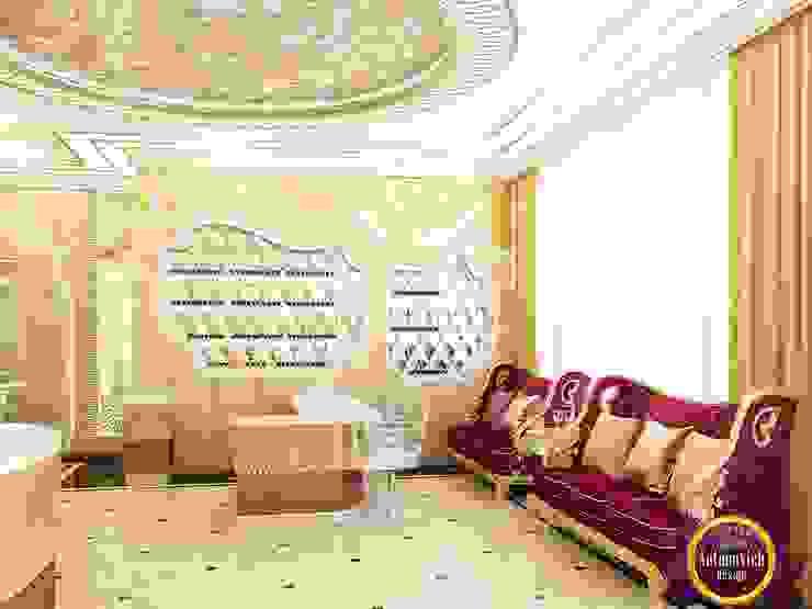Luxurious beauty salon interior of Katrina Antonovich by Luxury Antonovich Design Eclectic