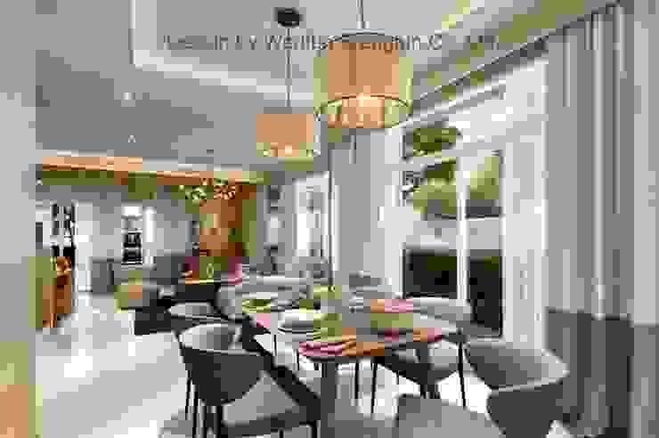 งานออกแบบบ้านพักอาศัย2ชั้น โดย บริษัท วาดฝัน สร้างฝัน จำกัด