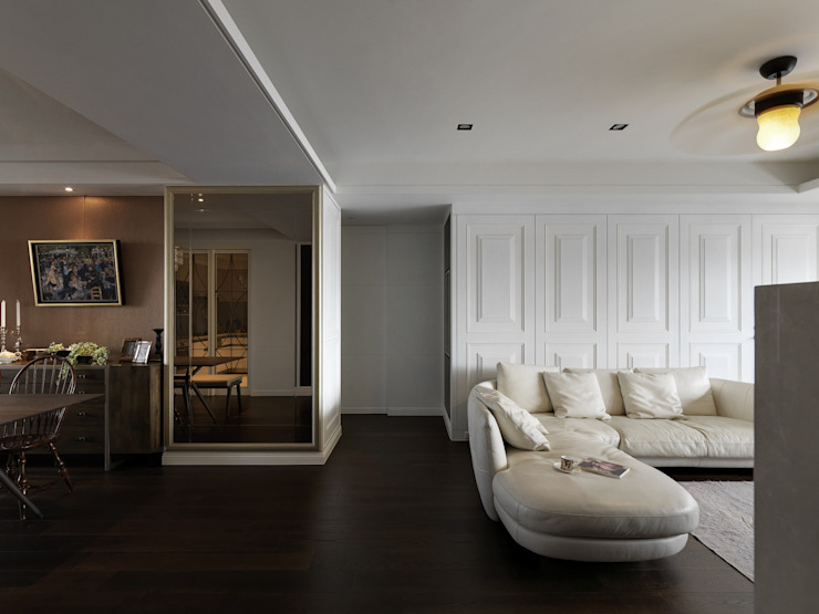 Salones clásicos de 大荷室內裝修設計工程有限公司 Clásico
