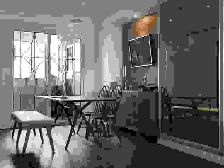 家的風景 大荷室內裝修設計工程有限公司 餐廳