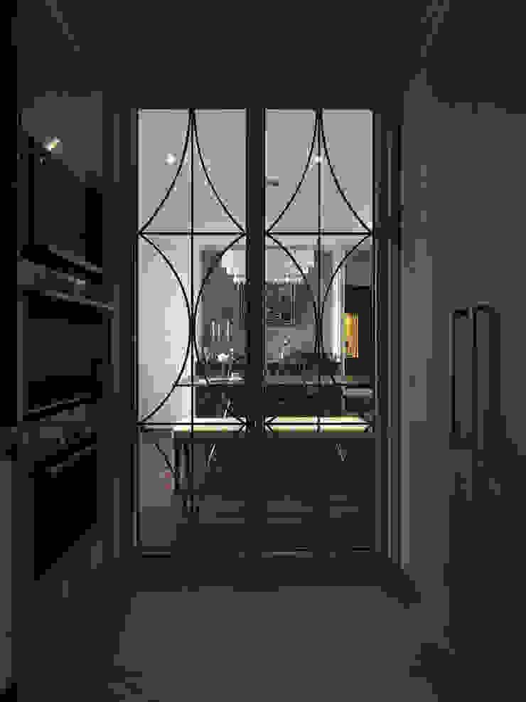 Cocinas clásicas de 大荷室內裝修設計工程有限公司 Clásico