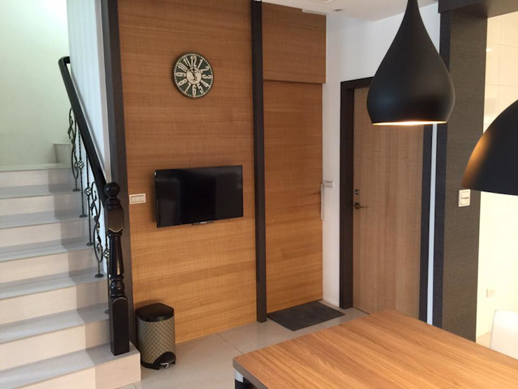 住宅 設計規劃案 根據 延伸建築 室內設計 EXTENSION DESIGN STUDIO 隨意取材風