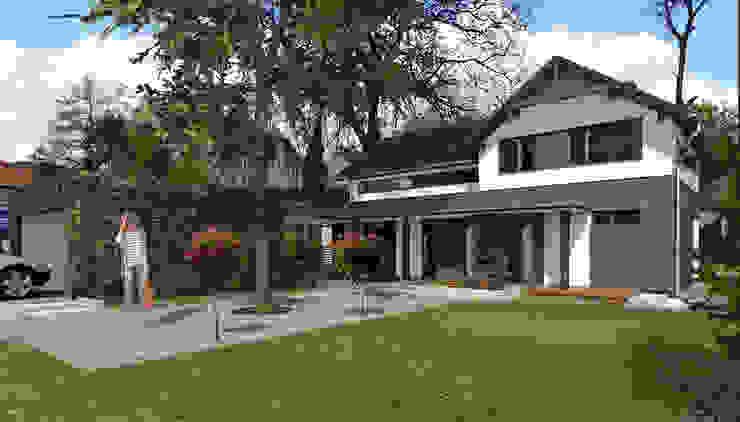 ABC Pracownia Projektowa Bożena Nosiła Classic style houses