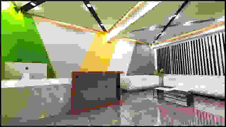 anılbora3D & İÇ MİMARLIK – Hülyaca Klinik & Lazer -Epilasyon: modern tarz , Modern Ahşap Ahşap rengi