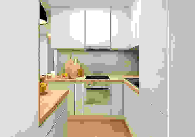Apartment in Lisbon Vera Correia Design & Photography Cozinhas minimalistas