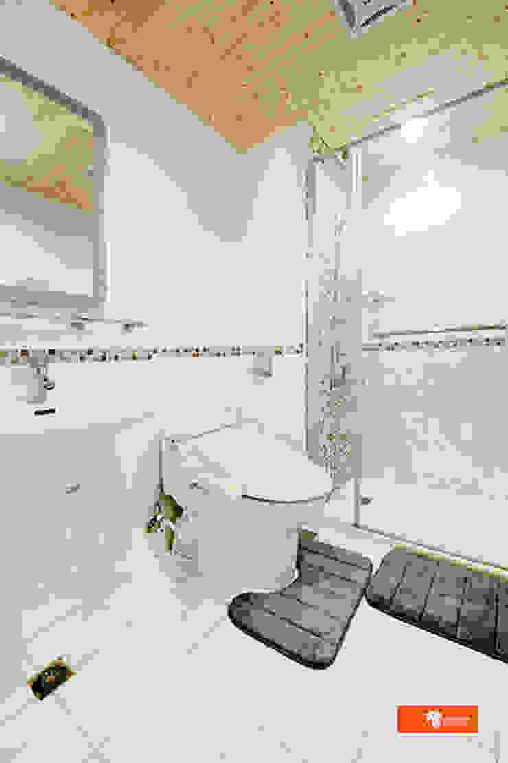 Baños de estilo escandinavo de Unicorn Design Escandinavo