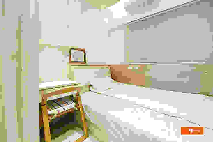 Dormitorios de estilo escandinavo de Unicorn Design Escandinavo