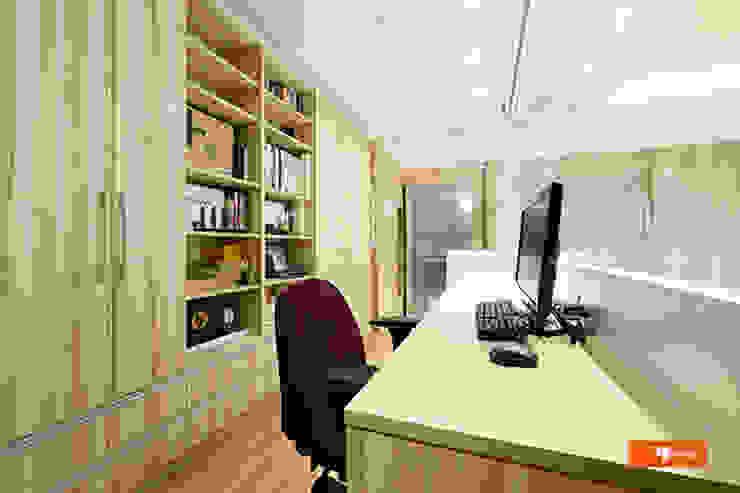 Estudios y bibliotecas de estilo escandinavo de Unicorn Design Escandinavo
