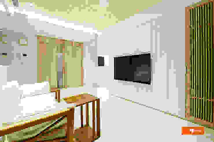 Livings de estilo escandinavo de Unicorn Design Escandinavo