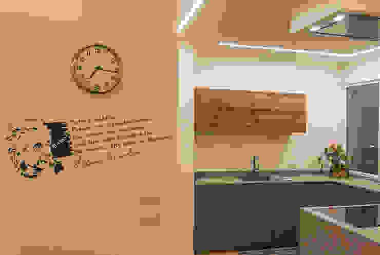 Architettura & Interior Design 'Officina Archetipo' Dapur Minimalis Grey