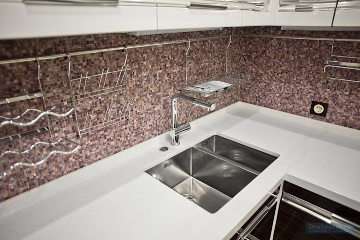 Cocinas modernas de Студия интерьера Дениса Серова Moderno