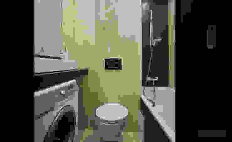 Студия интерьера Дениса Серова Modern bathroom