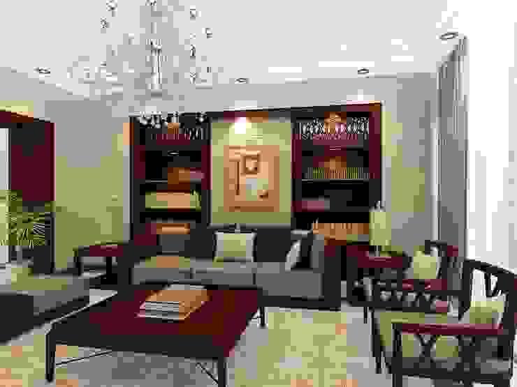 Ruang Keluarga Klasik Oleh الرواد العرب Klasik