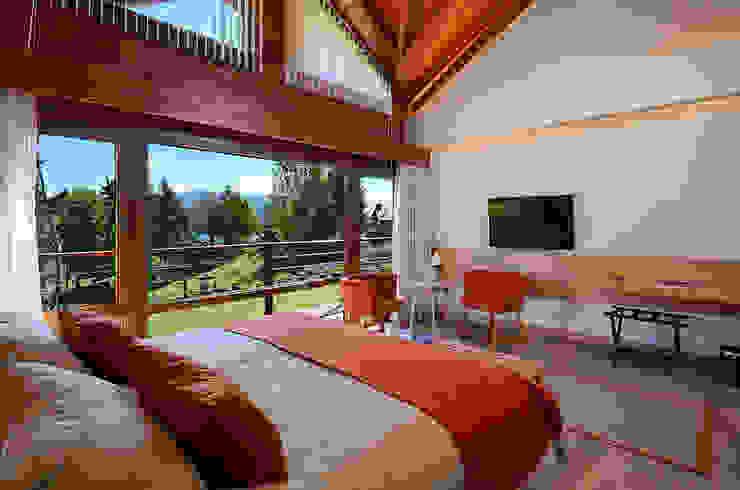 Habitacion suite Hoteles de estilo moderno de INTEGRAR DISEÑO Moderno