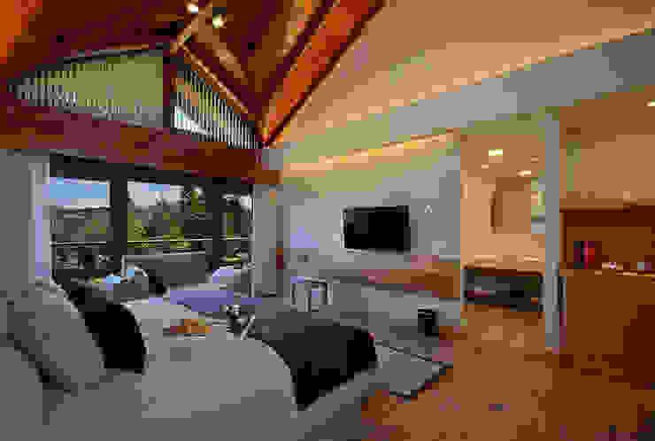Habitacione de categoria Hoteles de estilo moderno de INTEGRAR DISEÑO Moderno