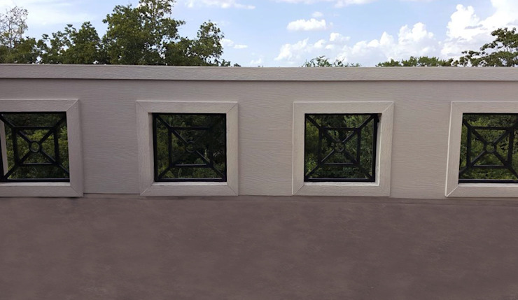 Modern terrace by Banda & Soldevilla Arquitectos Modern
