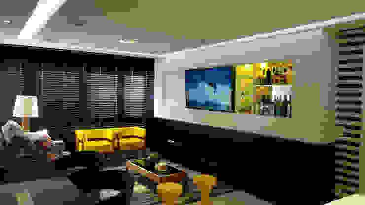 Modern Living Room by Carolina Burin & Arquitetos Associados Modern