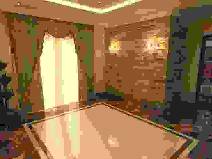 Phòng khách phong cách kinh điển bởi الرواد العرب Kinh điển
