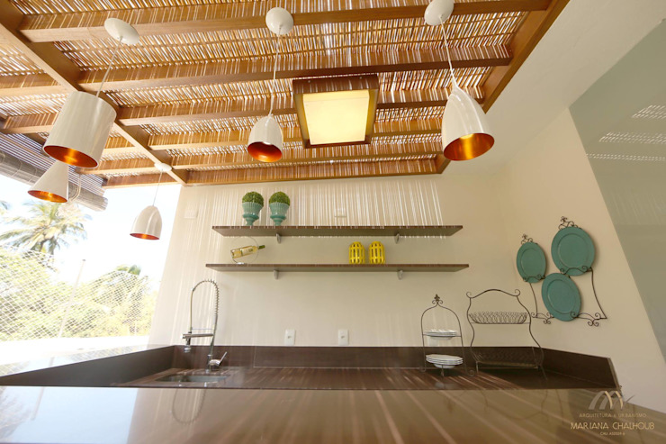 Mariana Chalhoub Balconies, verandas & terraces Accessories & decoration