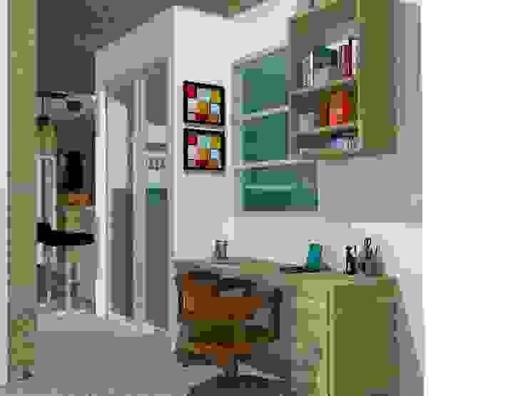 Estudio. Estudios y despachos de estilo moderno de TALLER 9, ARQUITECTURA Moderno