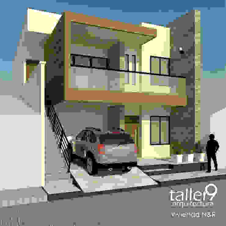 """VIVIENDA """"N&R"""" Casas modernas de TALLER 9, ARQUITECTURA Moderno"""