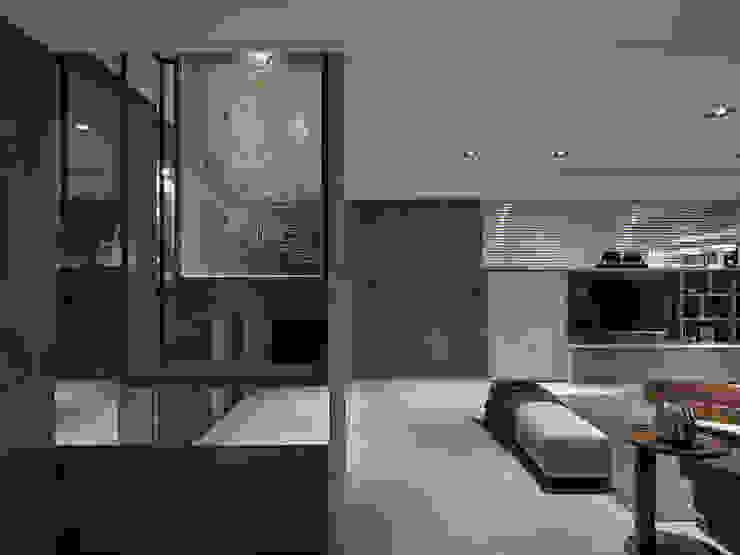 關於家的體感溫度 Modern living room by 大荷室內裝修設計工程有限公司 Modern