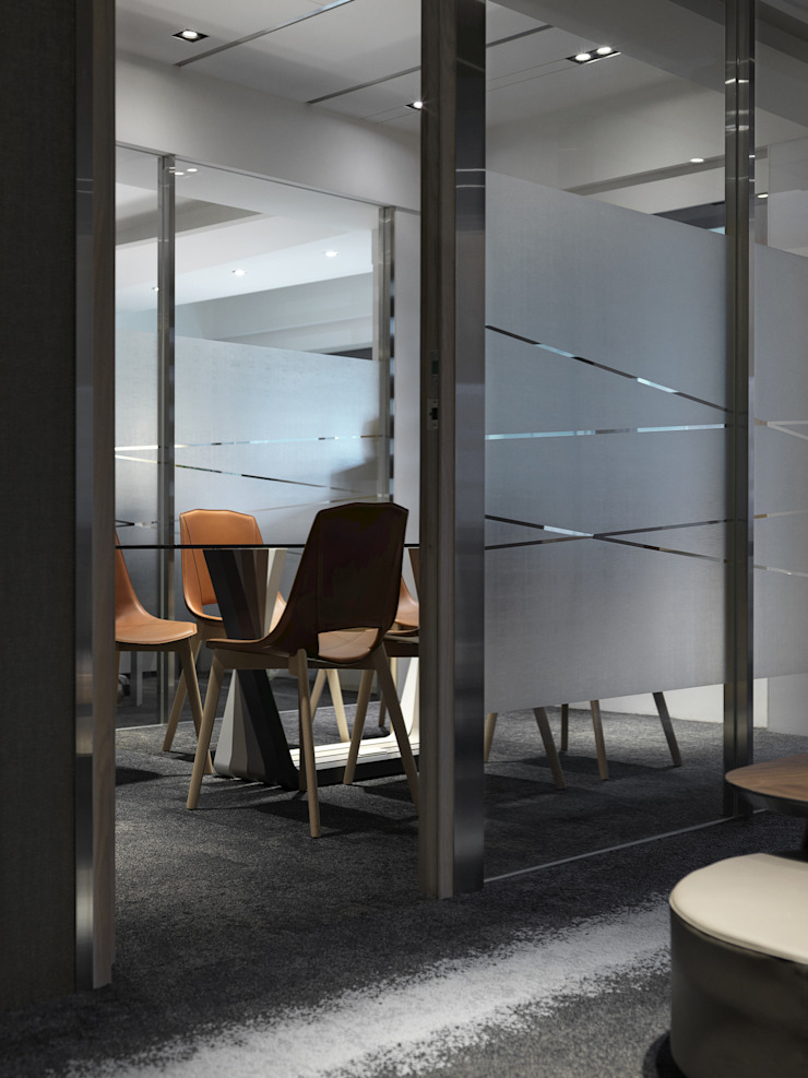 工作空間的最大值 大荷室內裝修設計工程有限公司 Modern style study/office