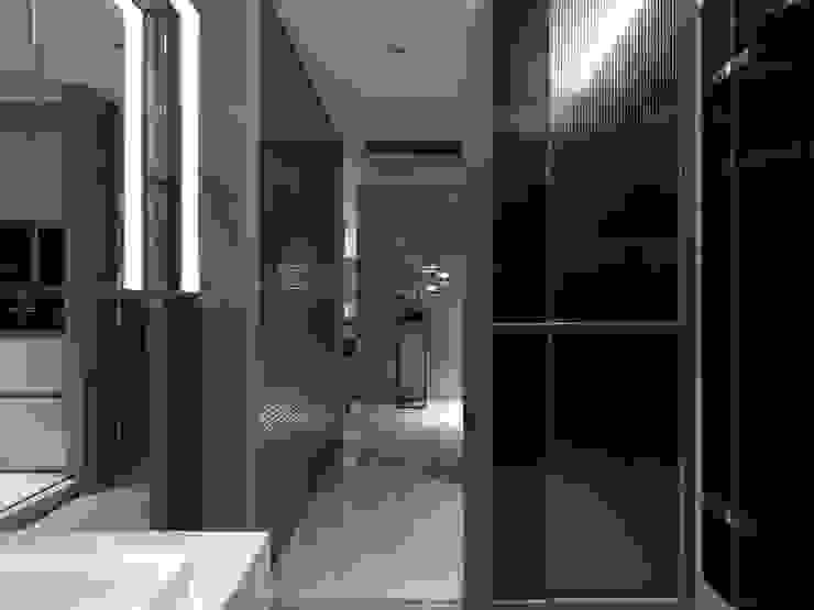 工作空間的最大值 大荷室內裝修設計工程有限公司 Modern style bathrooms