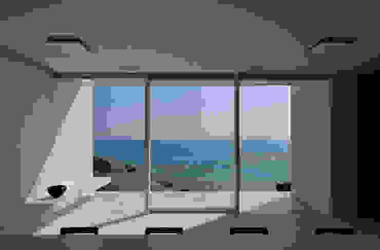 FRSW-HOUSE 門一級建築士事務所 モダンな キッチン 白色