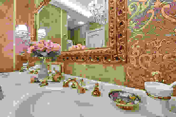 Сливки общества в ЖК Золотые ключи: Ванные комнаты в . Автор – Дизайн бюро Оксаны Моссур,