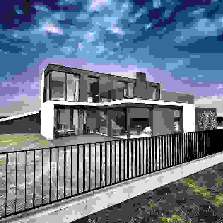 Дома в стиле модерн от katarzyna kmita / ARCHITEKT Модерн Бетон