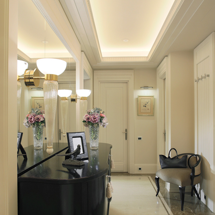 Pasillos, vestíbulos y escaleras de estilo ecléctico de FABER GROUP Ecléctico