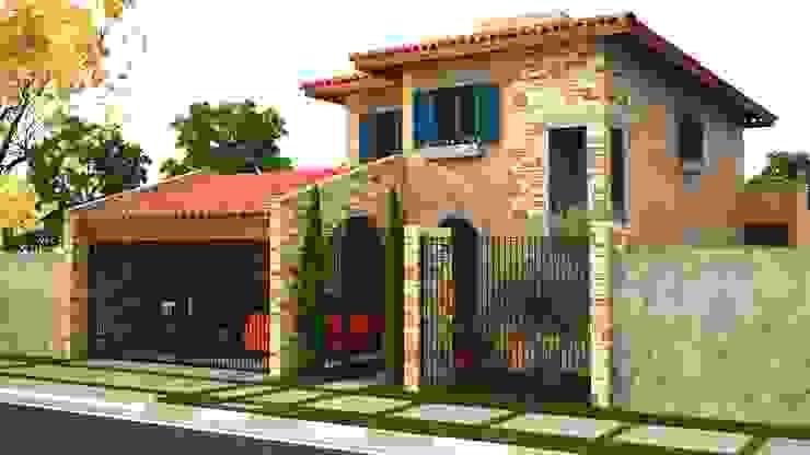 Maisons de style  par Leonardo Morato Arquitetura,
