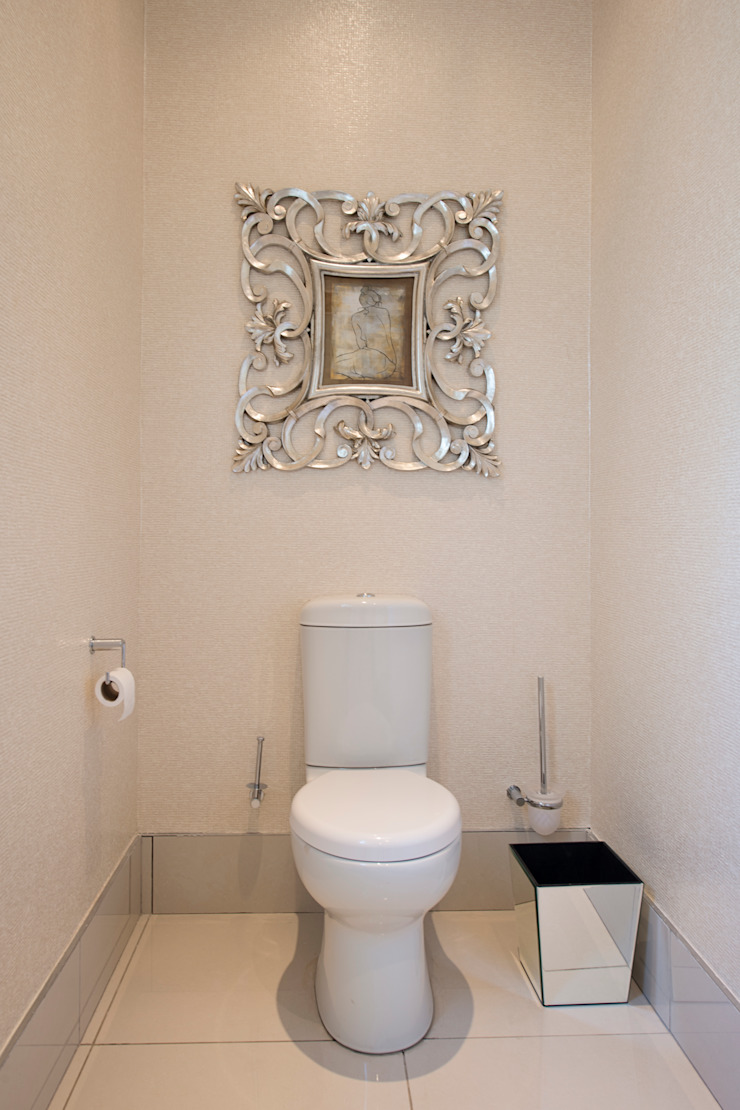 Guest Toilet Modern bathroom by Tru Interiors Modern