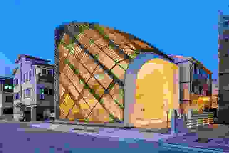 Louverwall 모던스타일 주방 by AND(에이엔디) 건축사사무소 모던