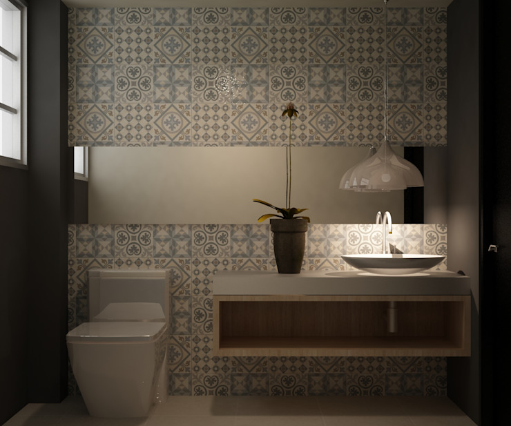 ESTUDIO DUSSAN Modern style bathrooms