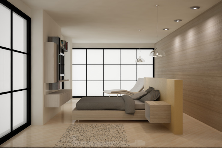 Modern style bedroom by ESTUDIO DUSSAN Modern