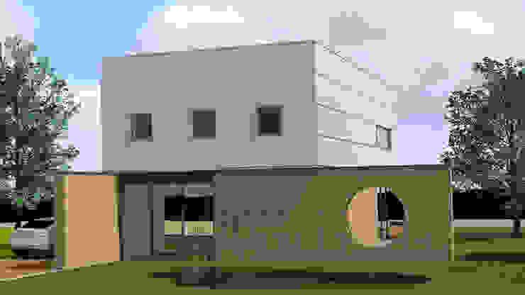 Villa 1 Moderne huizen van De E-novatiewinkel Modern Hout Hout