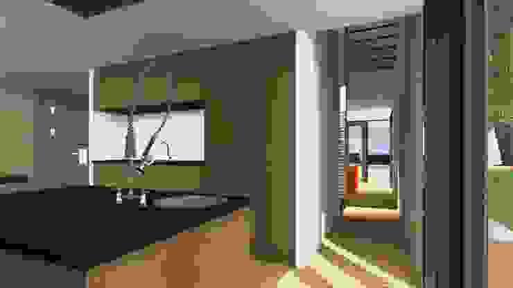 Villa1 doorzicht Moderne huizen van De E-novatiewinkel Modern Hout Hout