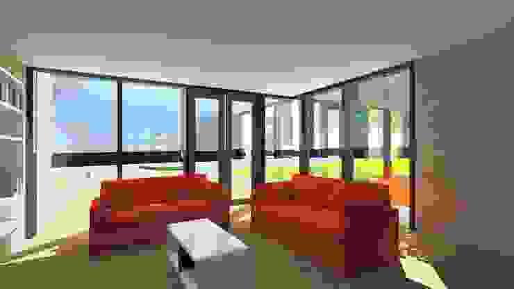 Villa 1 woonkamer Moderne huizen van De E-novatiewinkel Modern Hout Hout