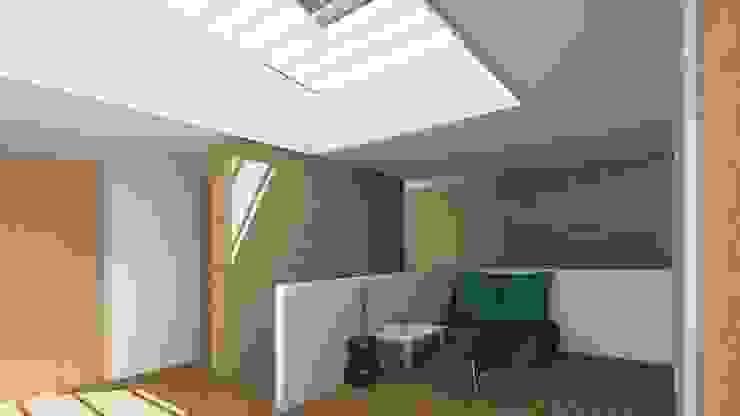 Villa 1 centrale ruimte Moderne huizen van De E-novatiewinkel Modern Hout Hout
