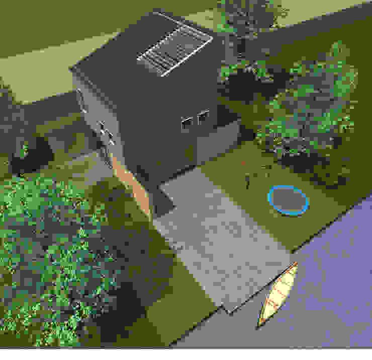 Villa 2 Industriële huizen van De E-novatiewinkel Industrieel Hout Hout