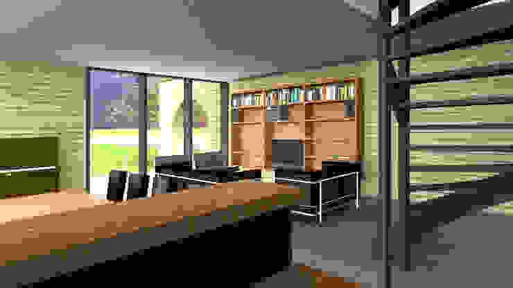Villa 2 woonkamer Industriële huizen van De E-novatiewinkel Industrieel Hout Hout